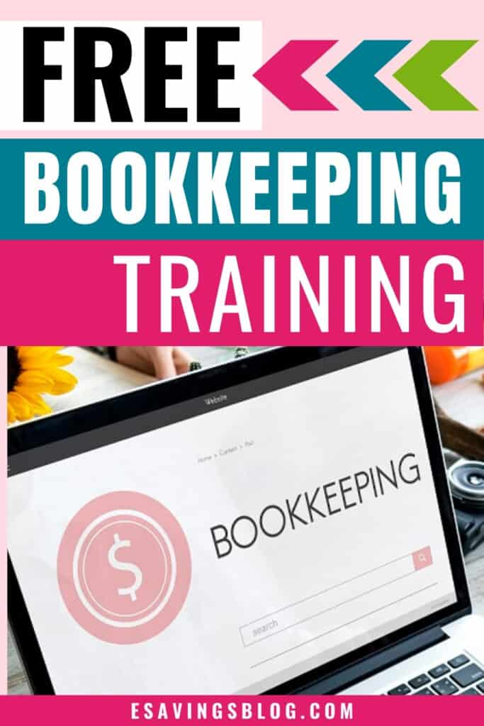 Free Bookkeeping training course on a computer