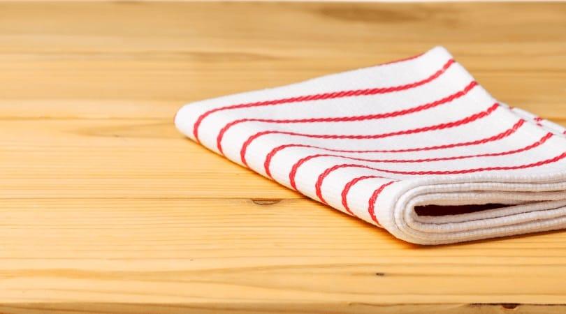 Reusable Hand Towel on a Table