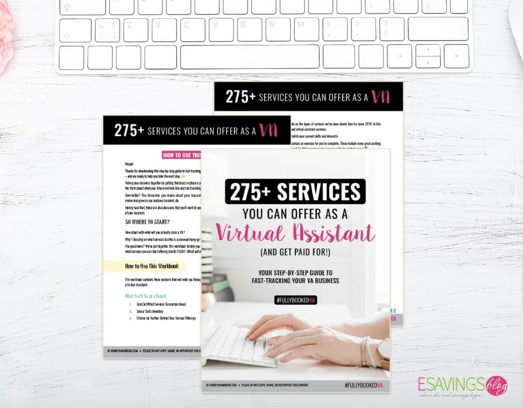Free Guide on Services You can Offer as a VA