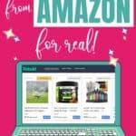 Rebaid website with cashback rebates on Amazon